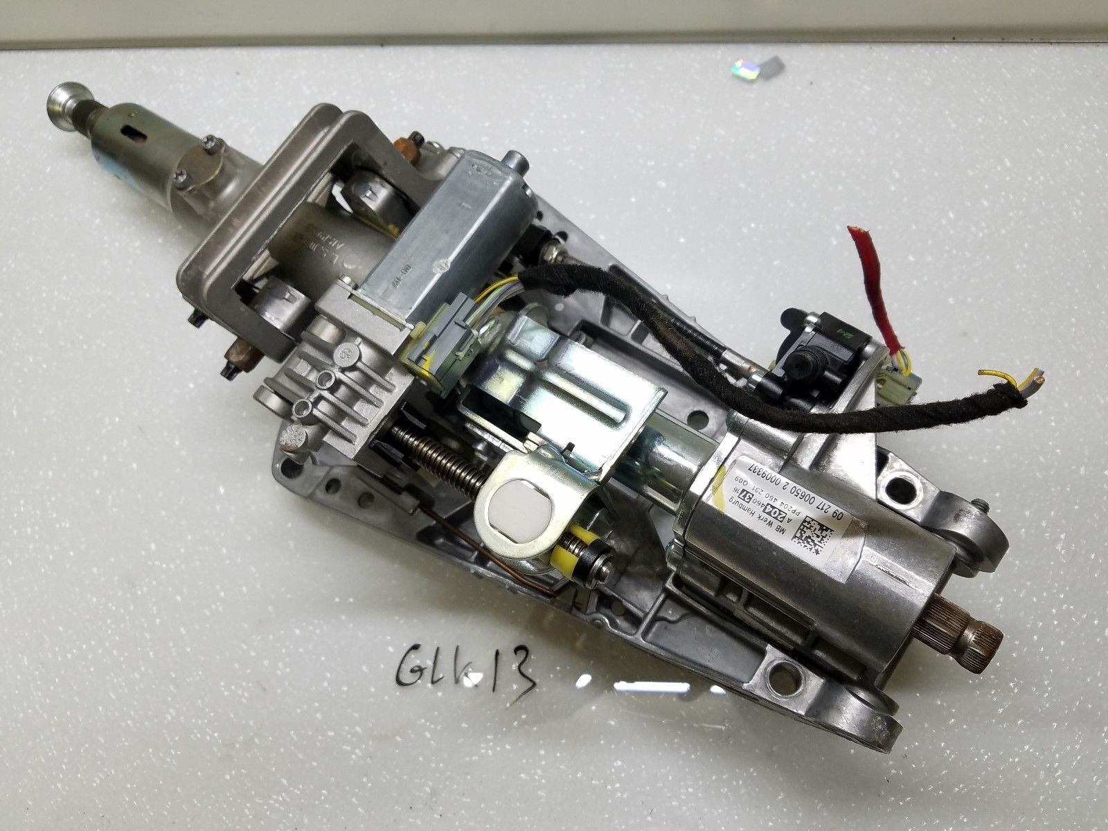 2010-2012 Mercedes GLK350 POWER STEERING COLUMN W/ MOTOR OEM 2044603716 Does not apply