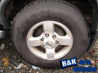 WHEEL 16X7 ALLOY 4-SPOKE FLAT SPOKE SILVER XE FITS 04 XTERRA 4965089