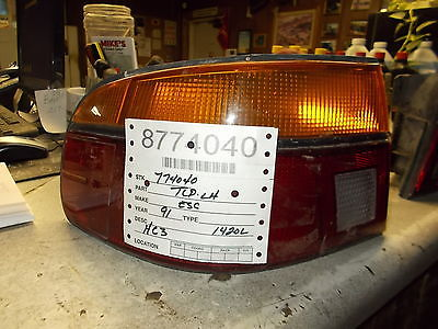 Tail light LH 1991-1992 Ford Escort  2-door non-GT, 4-door  Int. 1420