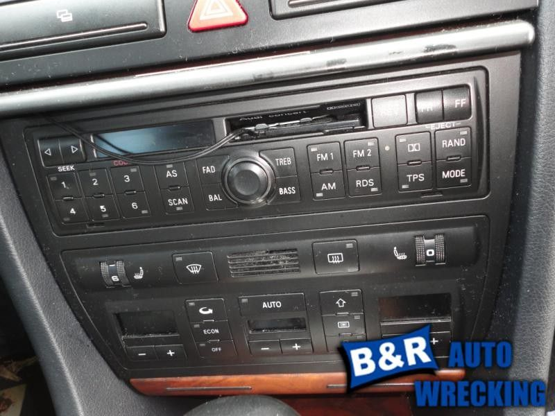 Radiostereo For 98 99 00 01 02 Audi A4 Am Fm Stereo Wcass