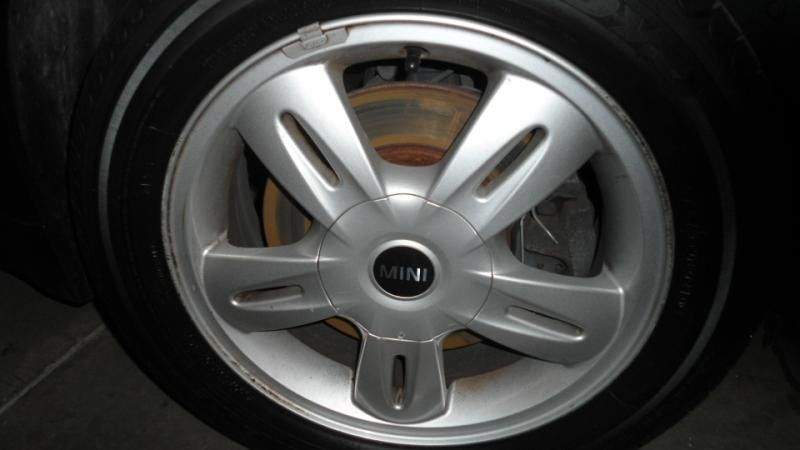 <em>WHEEL</em> 15X5 ALLOY 5-SPOKE FITS 02-09 MINI COOPER 3398061