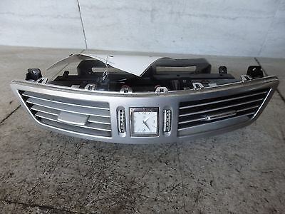 2008 MERCEDES S550 CENTER DASH VENTS WITH CLOCK