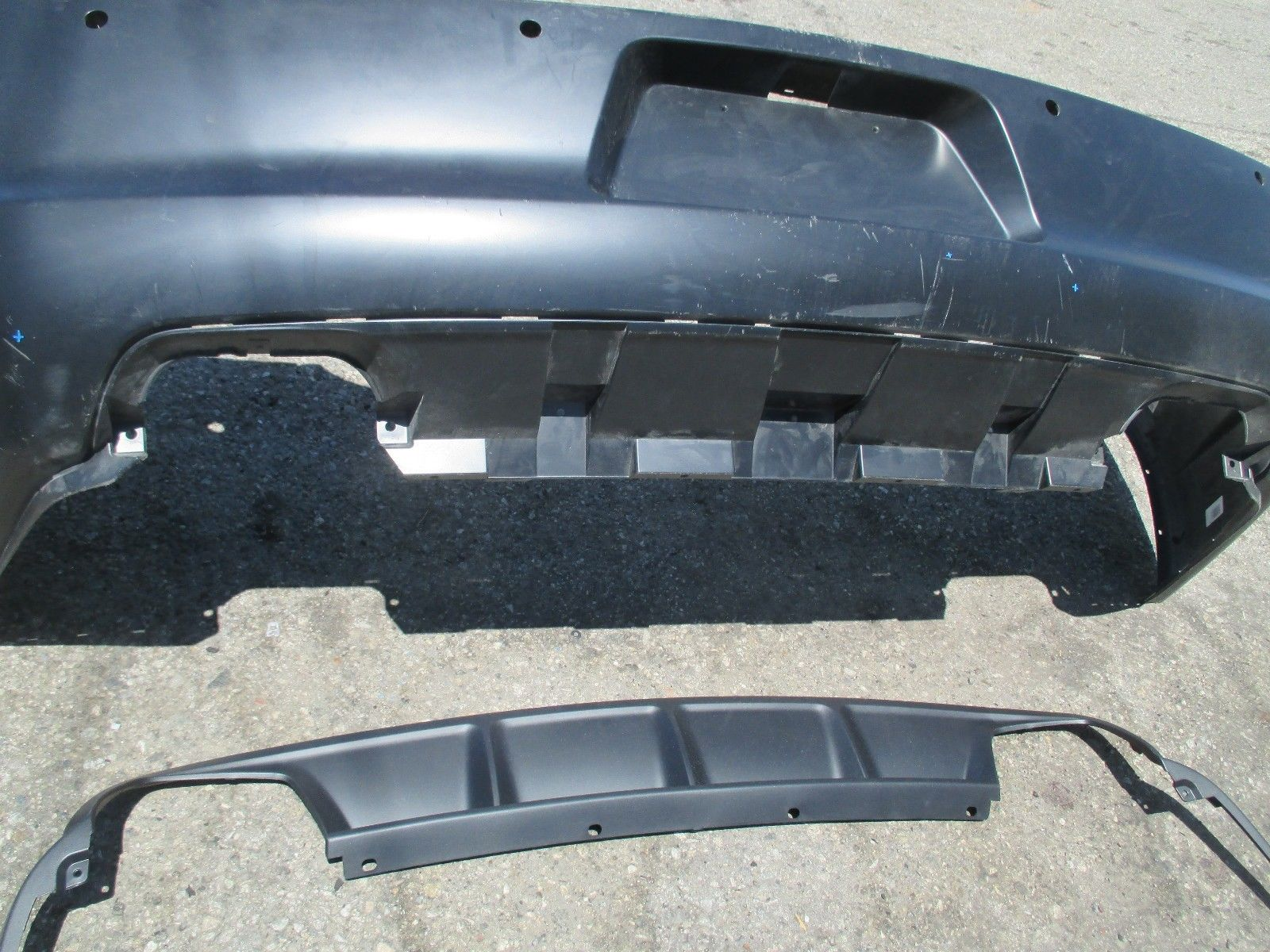 2011 2014 Dodge Charger Rear Bumper With Valance Oem