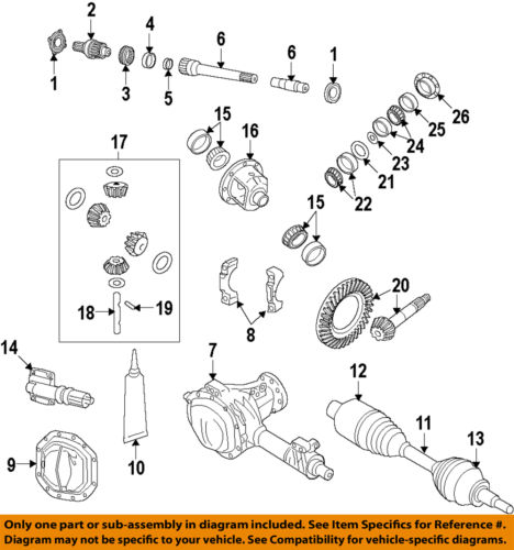 CHRYSLER OEM <em>Front</em> Drive <em>Axle</em>-Collar 52114381AA
