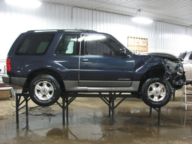 Ford Explorer 4x4 Front Axle : Ford explorer front axle differential ratio