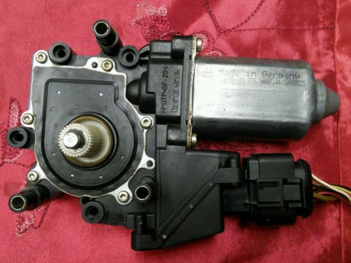 96 01 audi a4 front driver side window regulator motor oem for 2003 audi a4 window regulator