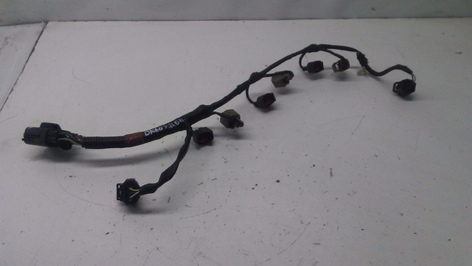 DK607200 2003 JAGUAR X TYPE FUEL INJECTOR RAIL WIRE HARNESS WIRING HARNESS  OEM 2002 2003 2004