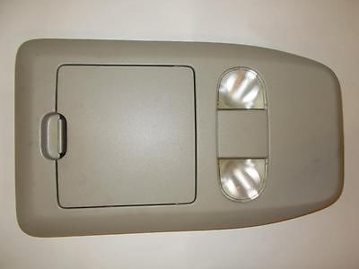 04-08 Ford F150 Interior Lights Cubby VT1107851263 Gray Overhead Console  #4482