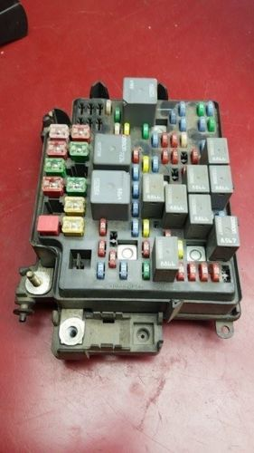 Chevy Tahoe Fuse Box on