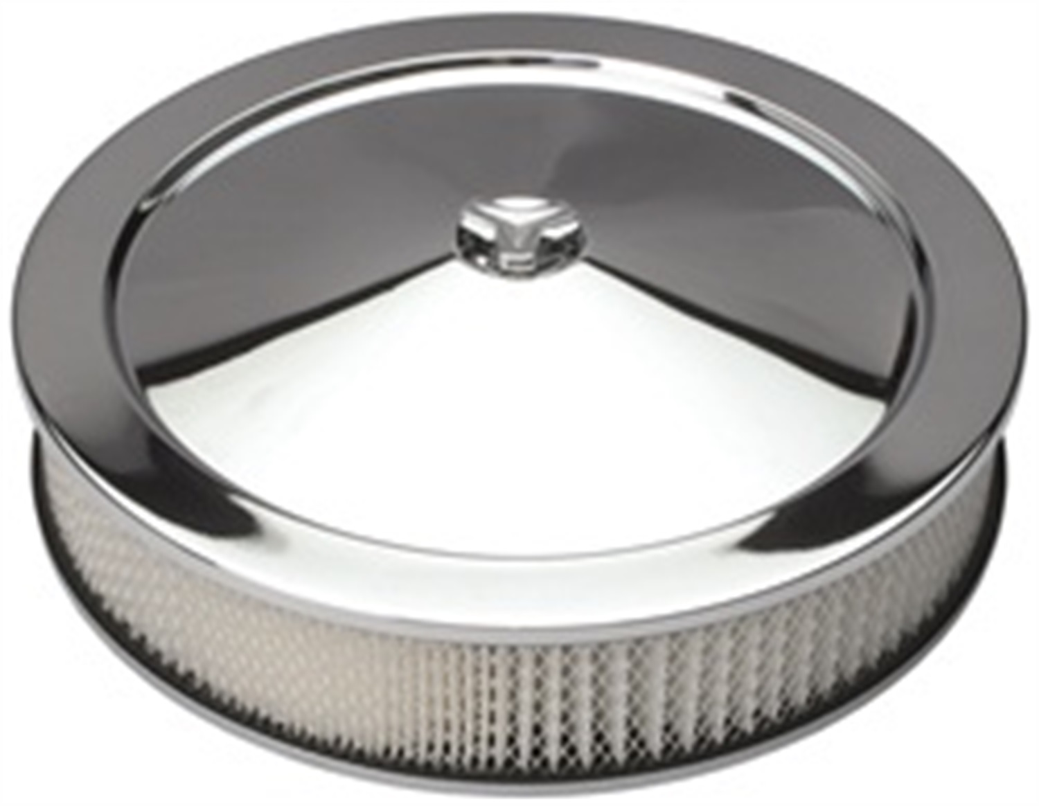 Custom Automotive Air Cleaners : Trans dapt performance products chrome air cleaner
