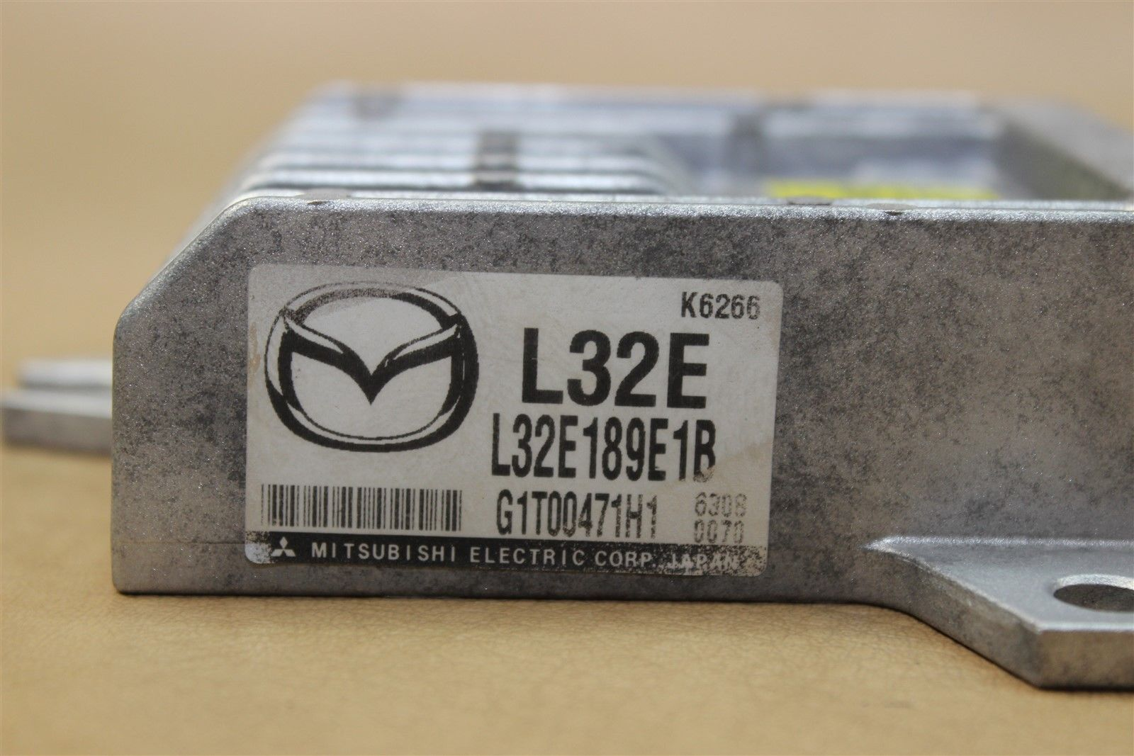 06 Mazda3 Mazda 3 Tcu Tcm Transmission Control Module Unit L32e Mitsubishi L32e189e1b Does Not Apply 1009