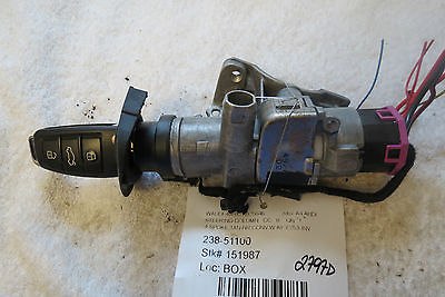 2007 Audi A4 Ignition Switch with Key Fob OEM 2797D