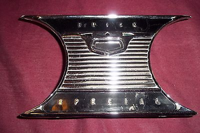 1954 Buick Special Dashboard Dash Panel Chrome Center Piece