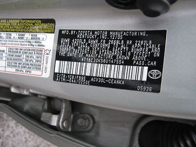 02 03 04 05 06 TOYOTA CAMRY Temp Heater Control Switch  2799923 2799923