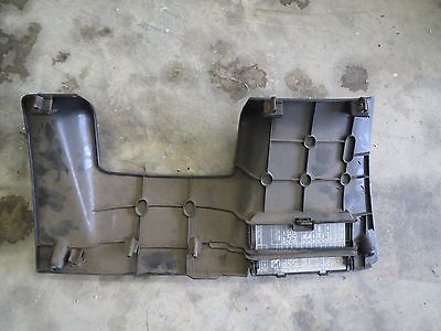 93-97 Honda Del Sol OEM under dash cover panel with fuse box cover on