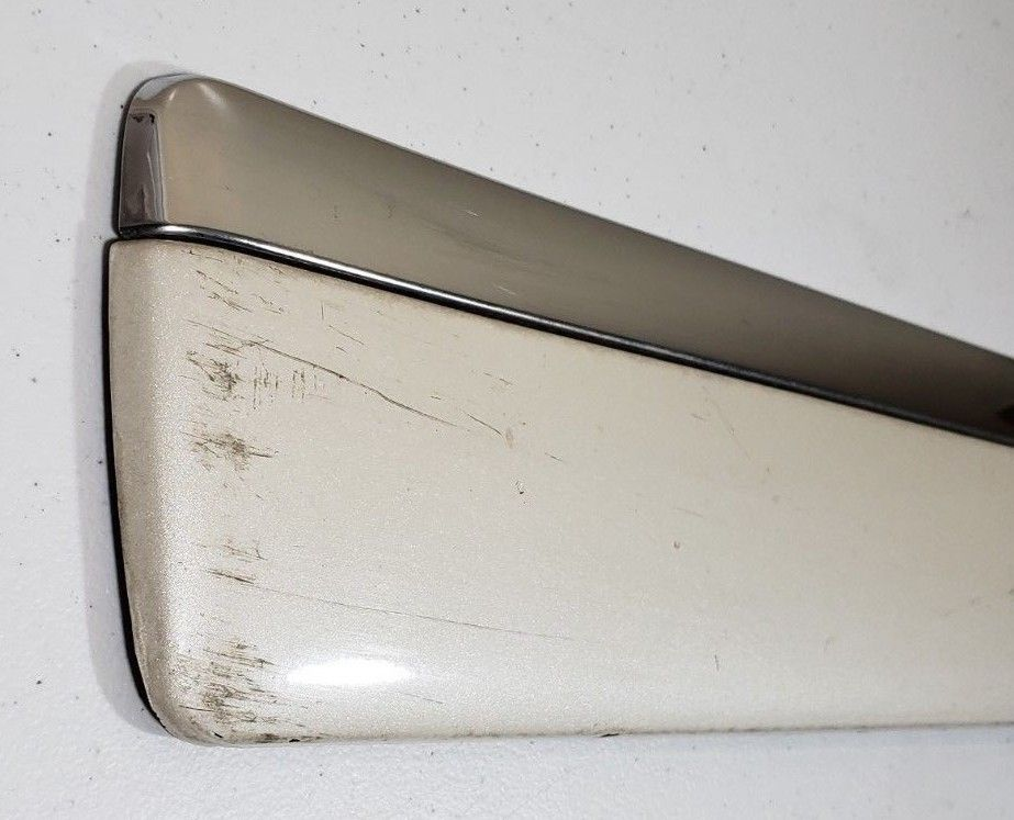GMC Chevy Tahoe Yukon Right Rear Door Chrome Molding OEM 09 10 11 12 13 14 Does Not Apply