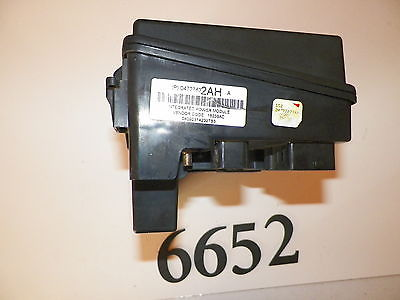2004 2005 04 05 chrysler pacifica fuse box integrated power module