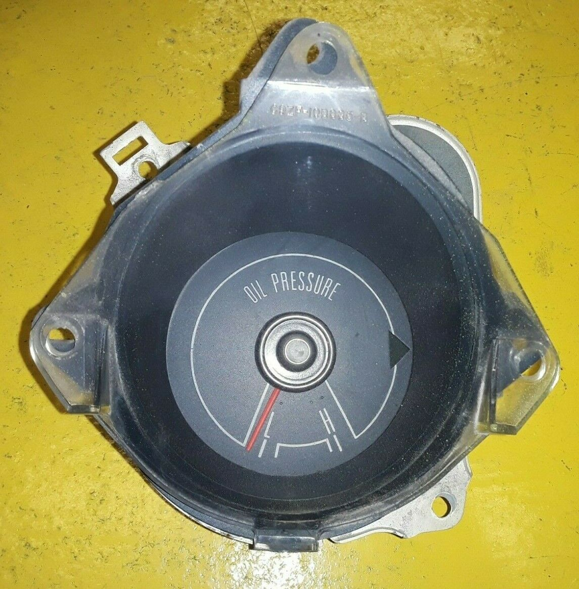OEM FORD 1969-1970 MUSTANG OIL PRESSURE GAUGE C9ZF-9B309-A ASSEMBLY