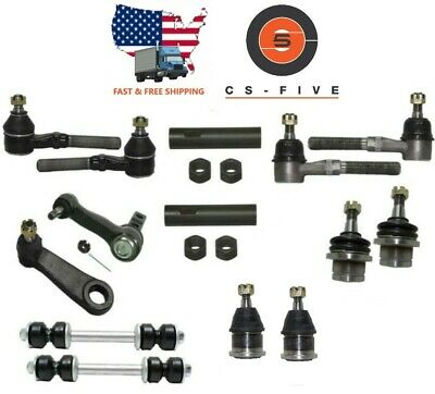 NEW Front End Kit HEAVY DUTY Tie Rods Pitman for FORD F-150 F-250 EXPEDITION 4WD