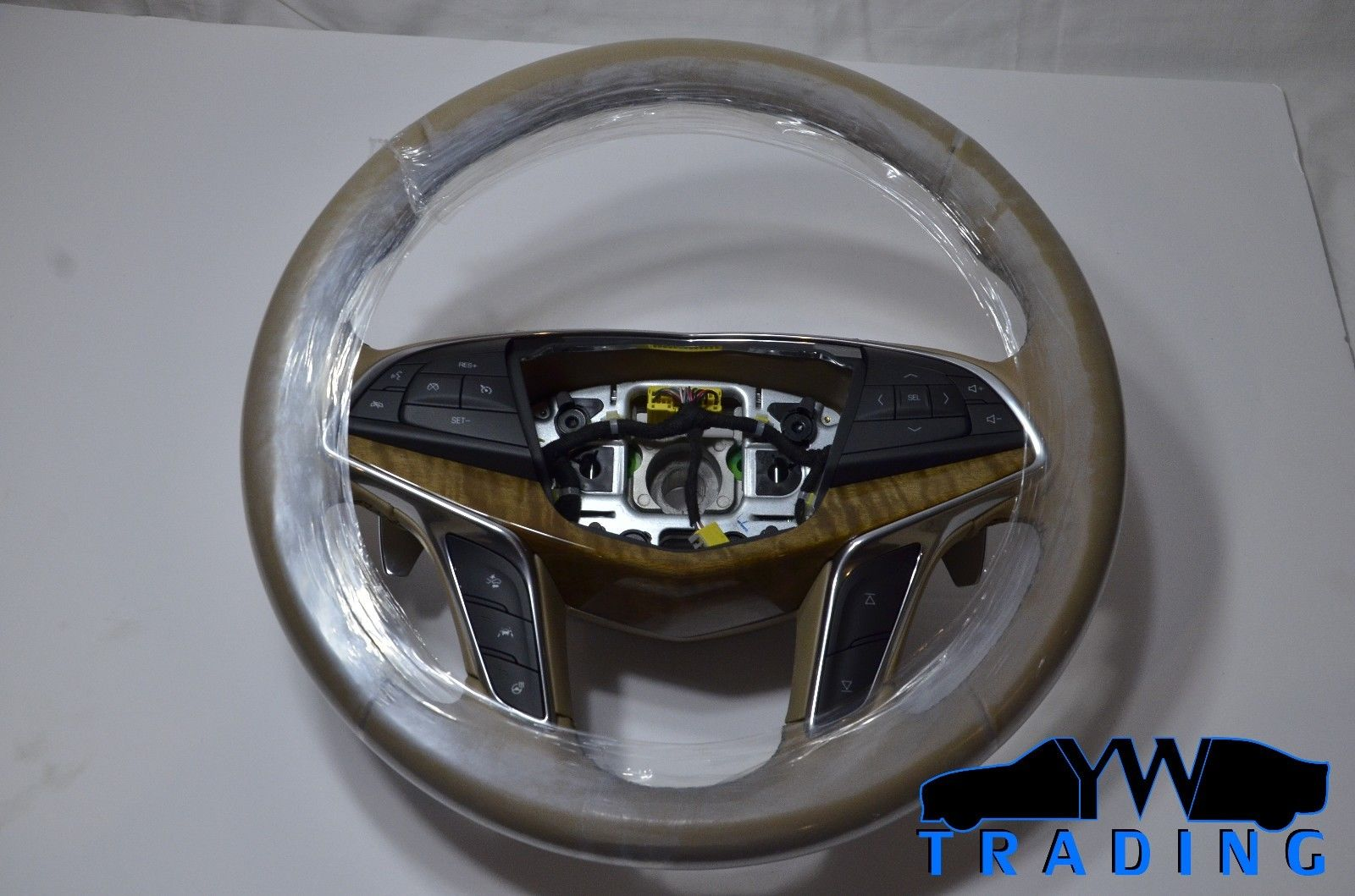 2016 - 2017 CADILLAC CT6 NEW OEM STEERING WHEEL W/ PADDLE SHIFTERS - 84016908
