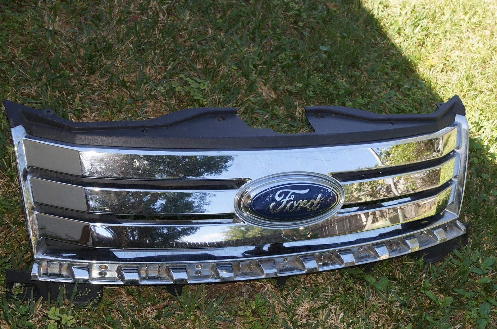 Ford Edge Front Grille Grill Chrome Oem Taa