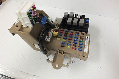 2009 10 11 12 13 SUBARU FORESTER 2.5L JUNCTION RELAY CABIN FUSE BOX ...