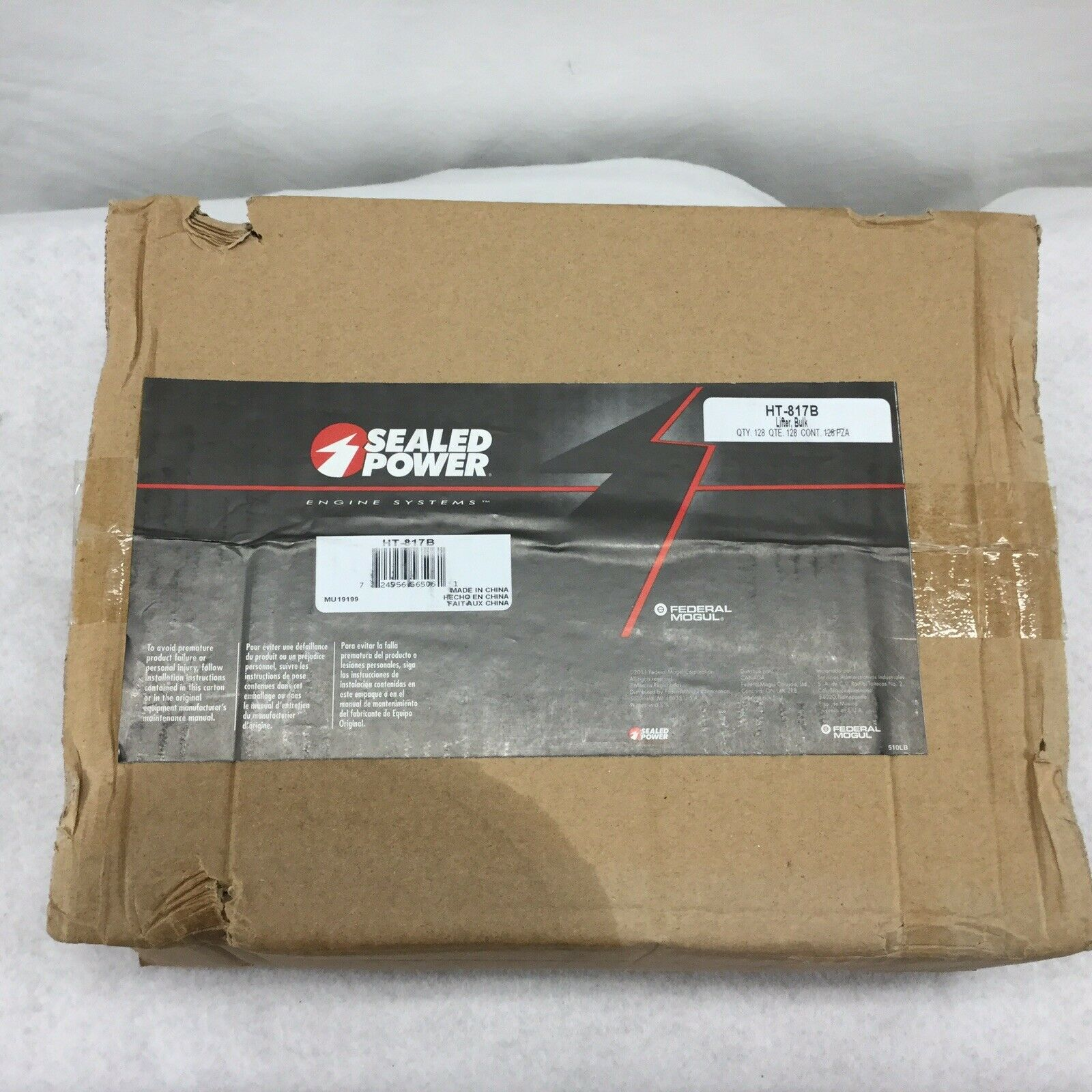 Sealed Power HT-817B (16) Hyd Flat Tappet Lifter fits Chevrolet SBC BBC 350 454 L817 TAPHA817