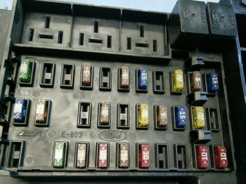 2000 2001 ford f150 fuse box panel yl3t 14a067 aa. Black Bedroom Furniture Sets. Home Design Ideas