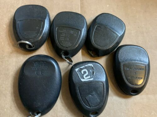 LOT OF GM KEY REMOTES FOBS TRANSMITTER GM