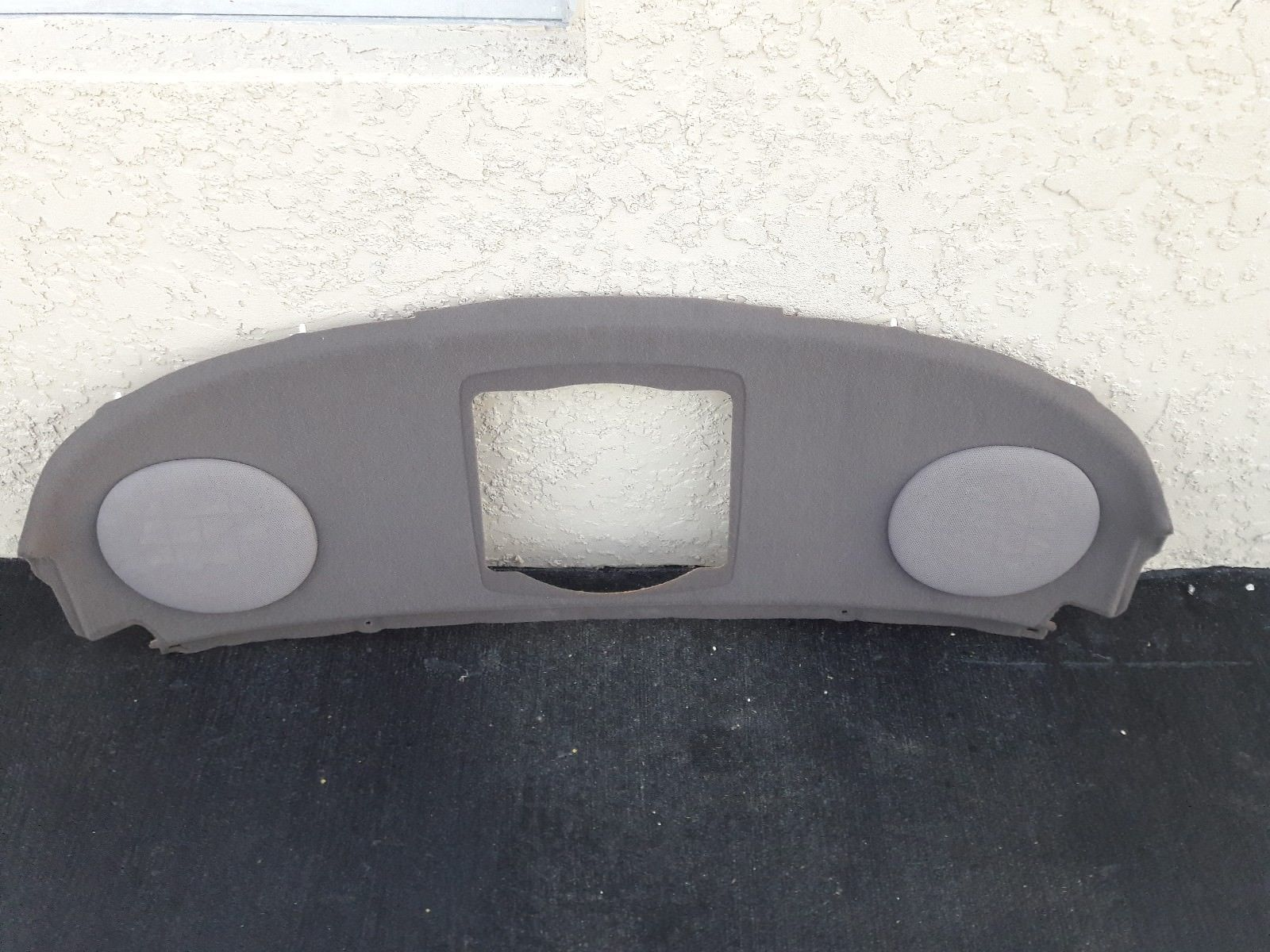 1992 93 94 95 96 97 Lexus SC400 SC300 rear speaker board parcel shelf tan panel Does not apply