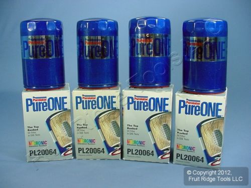 Pure ONE by <em>Purolator</em> <em>Oil</em> <em>Filter</em> 4 pack PL20064 75-76 Corolla 87-89 Van 79 210