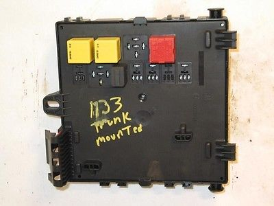 05 saab 9-3 trunk mounted fuse box 21523 , 646.sa1r05 saab 9 3 trunk fuse box #4