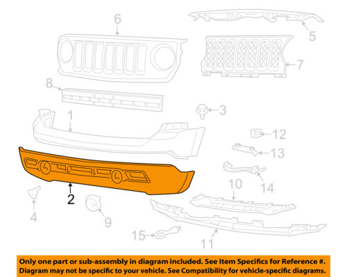 190df919 5dad 4c26 bbe4 cdf78979a900 jeep chrysler oem 11 14 patriot front bumper grille lower cover