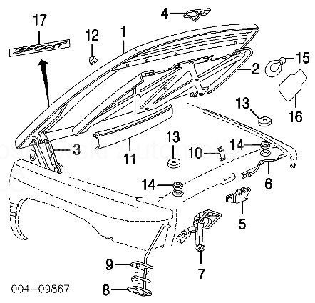 Ram 2500 Diesel2014 moreover  on mini cooper hood latch diagram