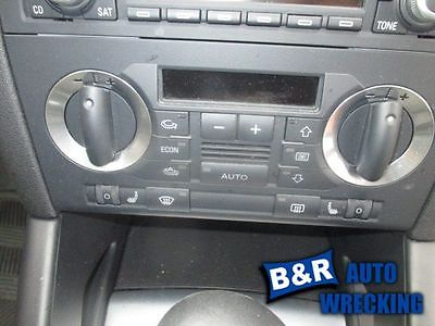 TEMPERATURE CONTROL WITHOUT NAVIGATION W/HEATED SEAT FITS 06-08 AUDI A3 8045255