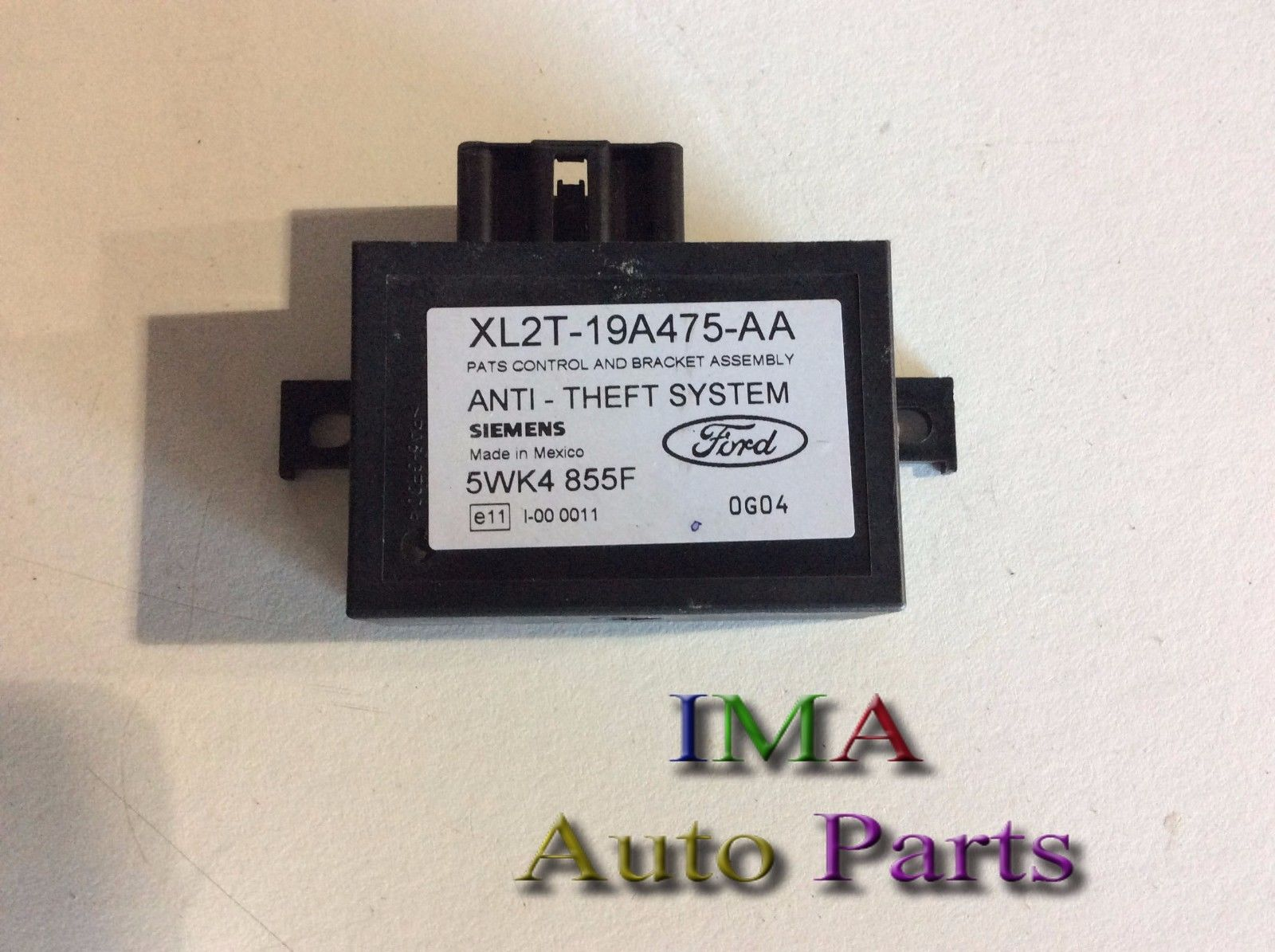 01 <em>MERCURY</em> MOUNTAINEER ANTI THEFT LOCKING SYSTEM CONTROL UNIT OEM XL2T-19A475-AA