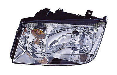 Replacement Depo 341-1106L-AF-Y Driver Side Headlight For 94-05 Volkswagen Jetta