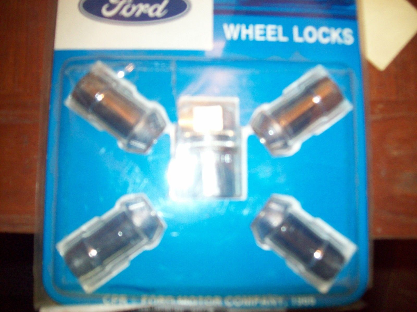 NOS <em>Ford</em>  Wheel Locks  FOTZ1A043B <em>Ford</em> <em>F</em>-<em>150</em>