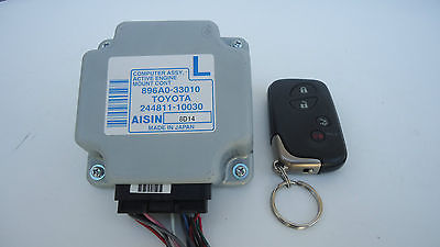 2007-2012 LEXUS ES350 ACTIVE ENGINE MOUNT CONTROL MODULE W/ KEY 896A0-33010 OEM