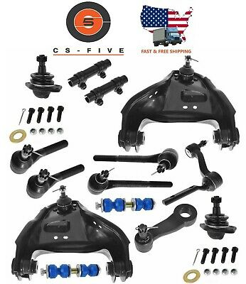 Front End Steering Rebuild Package Kit For Chevy Blazer S10 GMC Jimmy S15 4WD