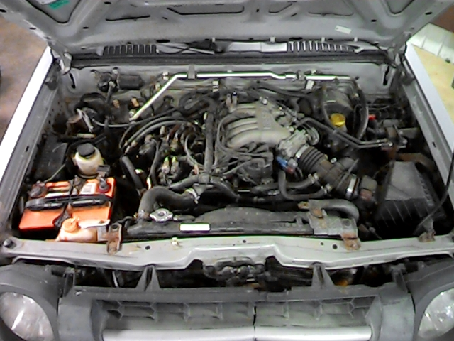 2002 Nissan Xterra Belt Diagram