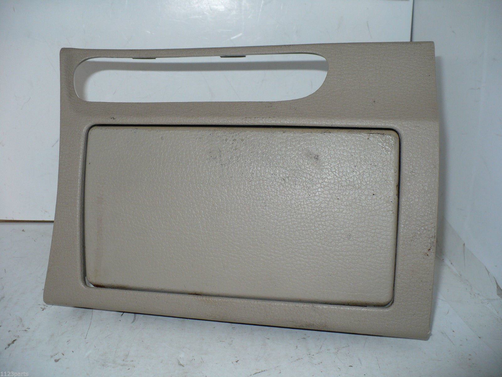 04 2004 Mazda 3 Center Console Bezel Trim w Drink Cup Holder Original OEM Beige