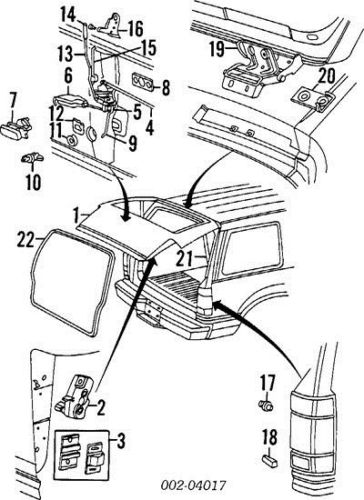 2002 explorer rear window latch diagram html