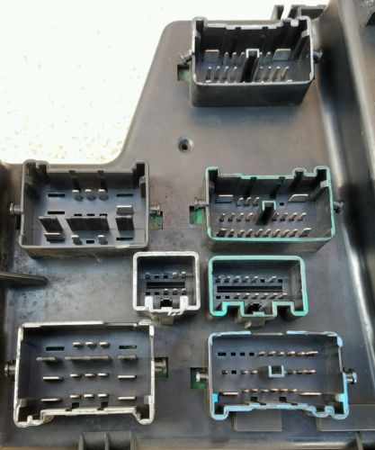 Used Dodge Ram Fuse Box : Dodge ram integrated power module fuse box bcm oem