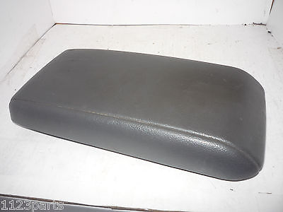 90 91 Toyota Camry Center Console Lid Cover Top Armrest Arm Rest OEM
