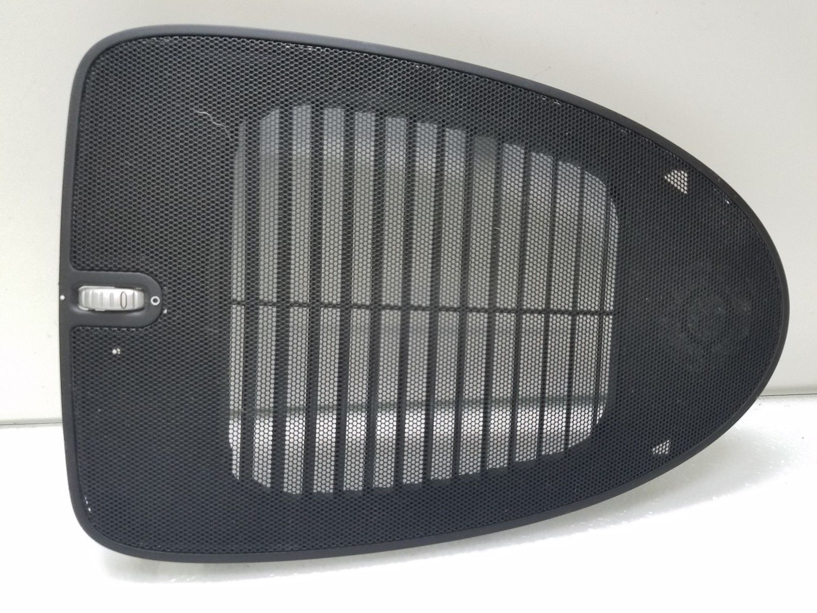 2003-2010 PORSCHE CAYENNE DASH CENTER AIR VENT SPEAKER GRILLE BLACK 7L5858189 Does not apply
