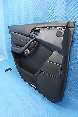 2000-2006 MERCEDES W220 S430 S500 Rear Left Door Panel Interior Trim Black OEM