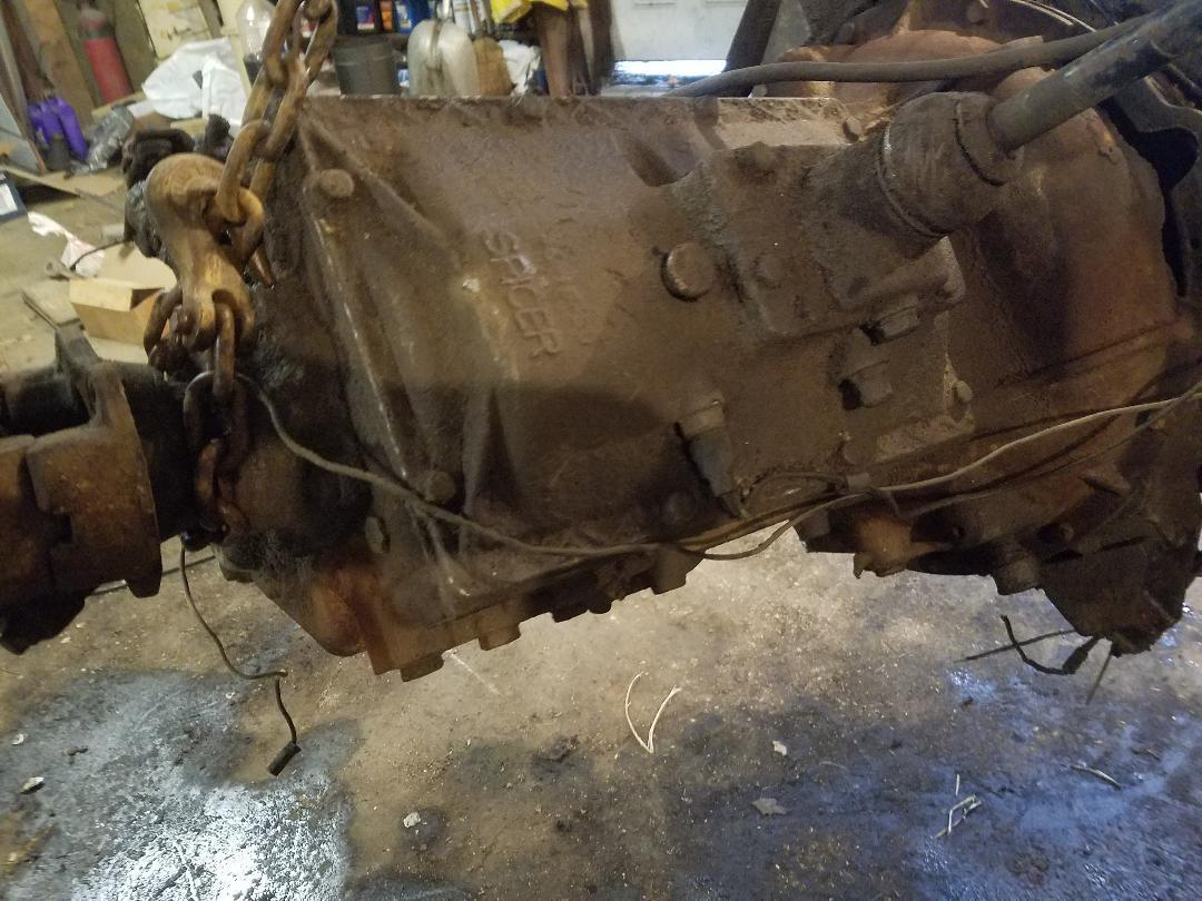 Spicer 5652 GM 2 ton truck transmission 5 speed WILL SHIP!