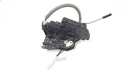 BMW 325i 330i Left Rear Door Lock Latch e46 2001-2005