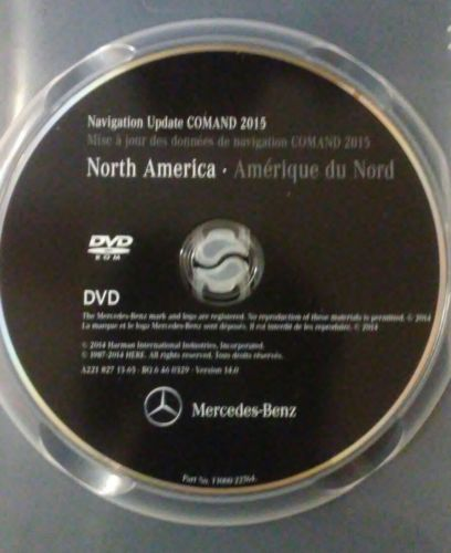 07-09 <em>MERCEDES</em> <em>BENZ</em> S, CL CLASS NAVIGATION DVD 2015 UPDATE COMAND A2218271365